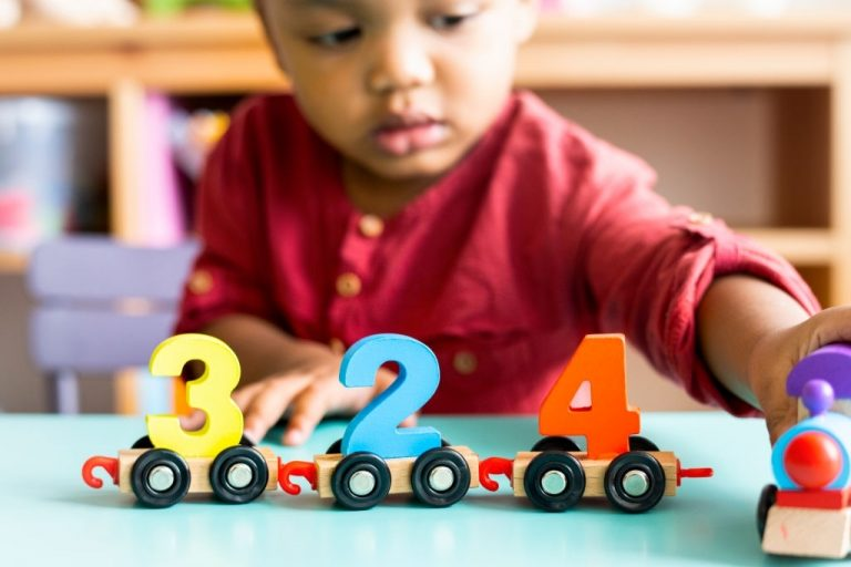 This activity is divided into five groups which include fraction activities they are numbers, decimal system, tens teens and counting, arithmetic tables and abstraction. Mathematics in montessori starts from concrete to abstract.