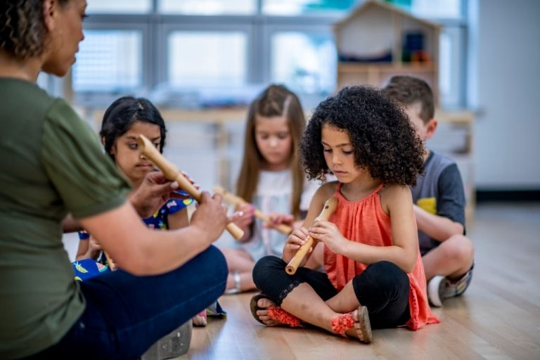 Our children will paint as well as do other art such as cutting and painting. They will also be thought music, dance and other forms of art to help develop their creativity.